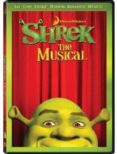 Shrek the Musical (2013, REGION 1 DVD New) WS