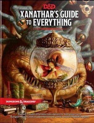 Xanathar's Guide to Everything by Wizards RPG Team (Hardback, 2017)