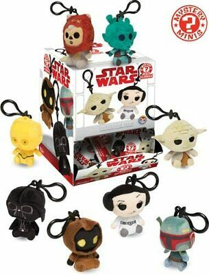 "FunKo Star Wars Solo 2.5"" Mystery Mini Collectible Plushies Keychain NEW IN PACK"