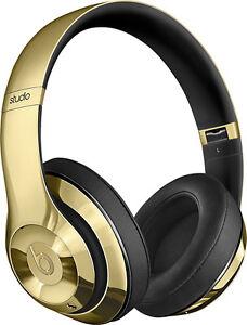 Beats Studio Over-the-Ear Headphones wireless golden color