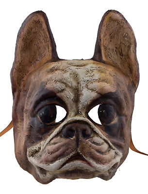 Mask from Venice Dog Bulldog English Paper Mache Collection Luxury 2298 X23