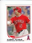 Albert Pujols Angels Card