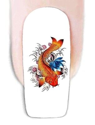 Wraps Abziehbilder Wassertransfer Folie Tatto Sticker Decal (Fisch Tattos)