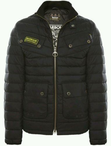 Barbour International Quilted Jacket Ebay