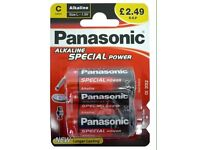 £2:49RRP 6 FOR £12 Panasonic Special power