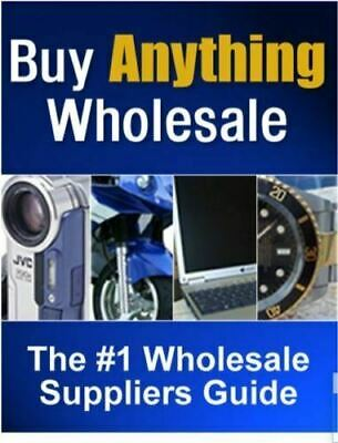 Buy Anything Wholesale with master resell rights with 24 hour delivery