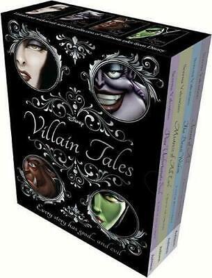 Disney Villain Tales Series Collection 4 Books Set Fairest Of All, Poor Unfortun