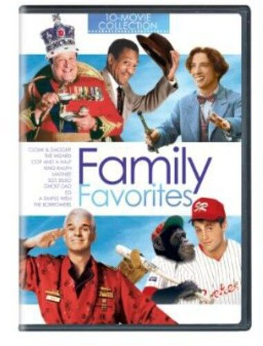 Family Favorites: 10 Movie Collection (2013, REGION 1 DVD New)