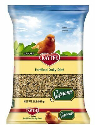 Kaytee Supreme Bird Food for Canaries, 2-lb bag