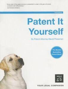Patent it yourself by david pressman nolo 12e 1413305164 ebay image is loading patent it yourself by david pressman nolo 12e solutioingenieria Image collections