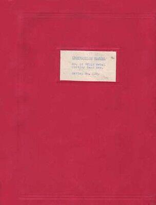 Wells Number 12 Horizontal Band Saw Instruction Manual