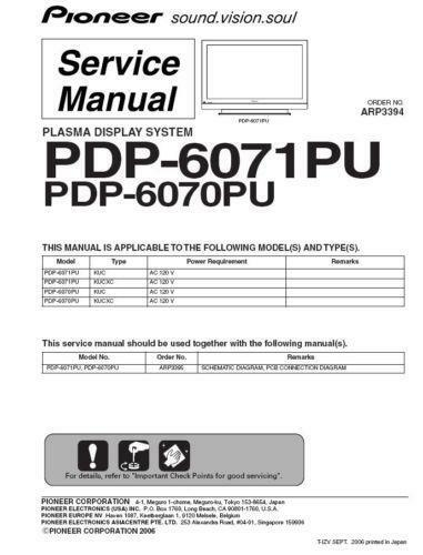 Tv Repair Manuals