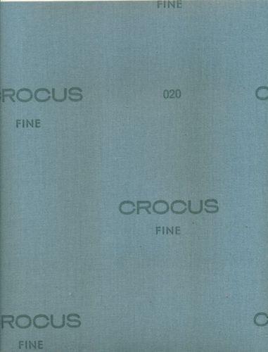 Crocus Cloth Sanding Coated Abrasive 1000 Grit Metal Polishing Finish Waterproof