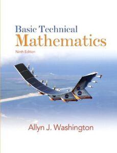 Basic Technical Mathematics (9th Edition)