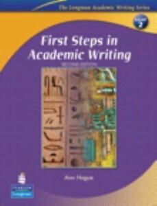 First Steps In Academic Writing The Longman Academic Writing Series, Level 2  - $6.38