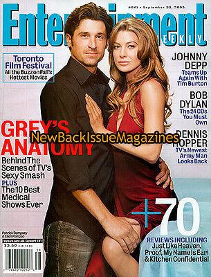 Entertainment Weekly 9 05 Ellen Pompeo September 2005 New