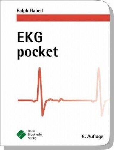 EKG pocket von Ralph Haberl (Buch) NEU