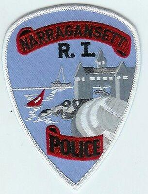 NARRAGANSETT RHODE ISLAND POLICE DEPARTMENT PATCH