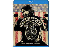 Sons Of Anarchy Seasons 1-4 Bluray Mint Condition. A Christmas gift! Only watched once!