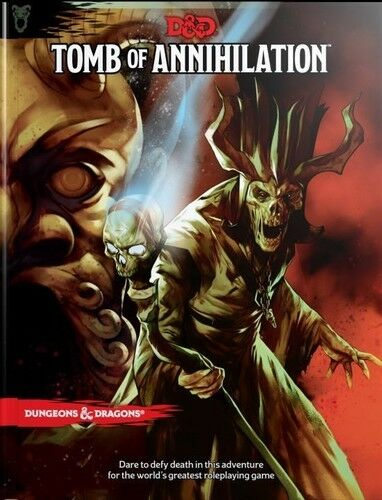 Tomb of Annihilation (Dungeons & Dragons, D&D) [New Book] Dice Game, H
