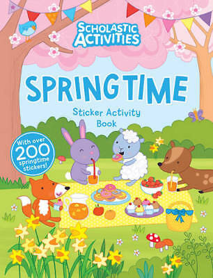 Springtime Activity - Springtime Sticker Activity (Scholastic Activiti, , New