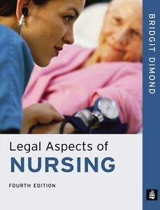 Legal Aspects of Nursing By Ms Bridgit Dimond. 9780582822788