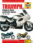 Speed Triple Repair Motorcycle Manuals and Literature