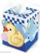 Plastic Canvas Tissue Box Kit