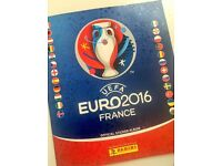 Panini UEFA Euro 2016 France sticker album (almost completed)