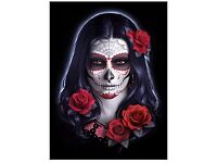 Sugar Skull Lenticular 3D Picture - Brand New Still in Packaging - Nemesis Now