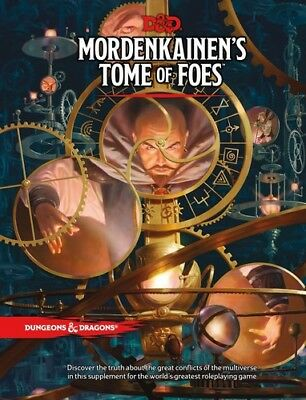 Mordenkainens Tome Of Foes  Dungeons   Dragons  D D   New Book  Dice Game  Ha