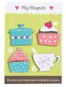 Cupcake Fridge Magnets