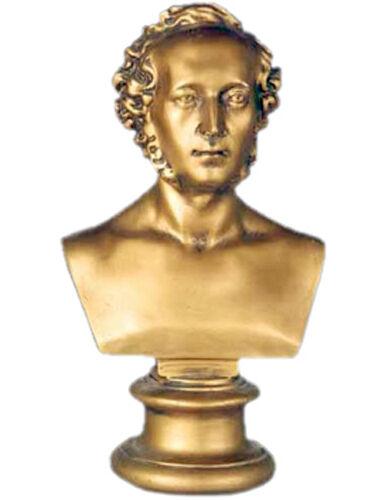 "Mendelssohn Bust Replica Reproduction 17"""