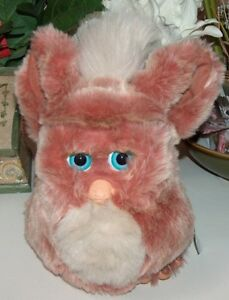 Tiger Electronics Pink and Beige Large Furby