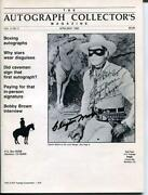 Clayton Moore Signed