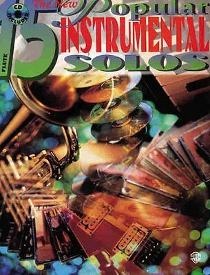 The New 15 Popular Instrumental Solos: Flute and accompaniment CD