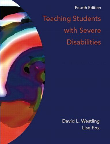 Teaching Students With Severe Disabilities  4th Edition