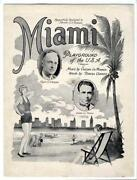 Florida Sheet Music