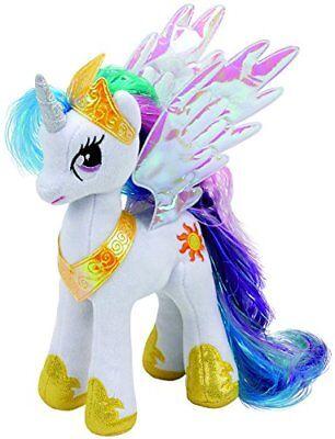 "TY My Little Pony 41182 Princess Celestia Sparkle Beanie Babies Collection 9"""