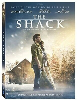 как выглядит DVD, HD DVD, Blu-ray диск The Shack DVD 2017 (Fantasy/Drama) (From the producer of The Blind Side) фото