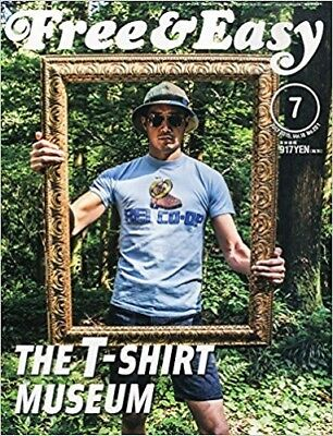 Free & Easy 2015 7 Men's Fashion Magazine Japan Book THE T-SHIRT MUSEUM