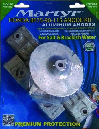 Opferanode Anode Ringanode für Honda BF75-BF130