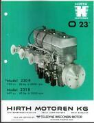 Hirth Snowmobile Engine