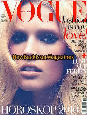 German Vogue 1/10,Toni Garrn,January 2010,NEW