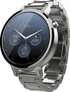 Moto 360 42mm Women's Smartwatch with Heart Rate Monitor