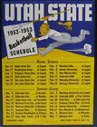 Football 1952 Vintage Sports Schedules