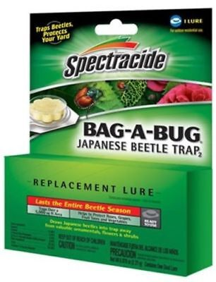 Spectracide Japanese Beetle Bait Bag-A-Bug system (1) Replacement Lure New