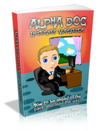 Alpha Dog Marketing PDF eBook with Full resale rights!