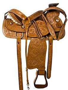 """15"""" 16"""" 17""""  Western Saddles Wade Cowboy Ranch All Leather $697 London Ontario image 7"""