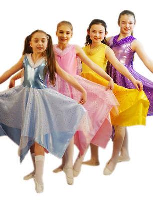 World Book Day/Dance Shows/Cinders/Belle FAIRY PRINCESS DRESS All (Belle Dance Kostüm)